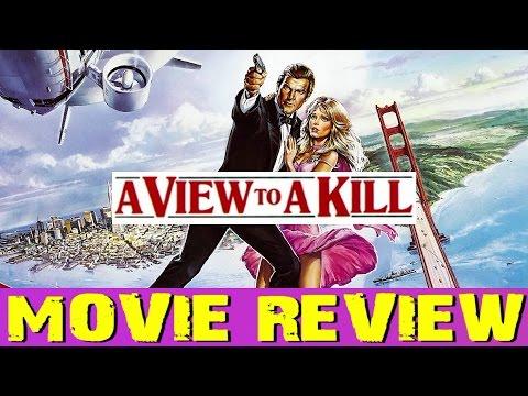007: James Bond - A VIEW TO A KILL film review (Bryan Lomax Movie Talk)