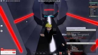 ROBLOX Area 47 -- Being a Site Director -- RRT guard SCP - 457's containment zone.