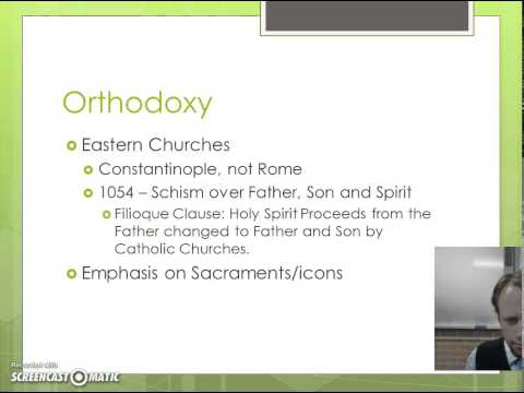 Christian Variants/denominations or groups