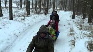 Kulig Zima 2013-01-19 konie - Świat Zwierząt Witoldzin 17