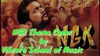 NGK Theme| Ngk Bgm | Vibrato School of Music | Suriya | Selvaraghavan | Yuvan Shankar Raja