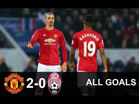 Zorya Luhansk vs Manchester United 2-0 | All Goals | Uefa Europa League 08.12.2016