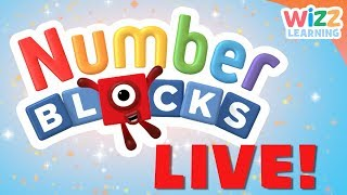 🔴Numberblocks | NEW EPISODES LIVE | Learn to Count