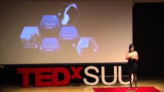 Science and fantasy: Helen Boswell at TEDxSUU