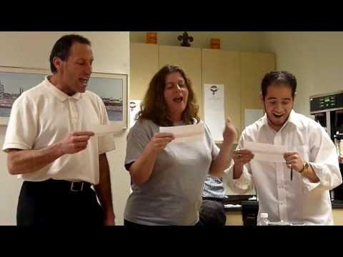 2011 ESM Karaoke Caroling - team Lincoln