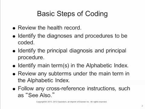 ICD-9-CM Basic Steps of Coding