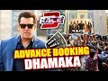 race 3 advance booking beats tiger zinda hai salman khan power