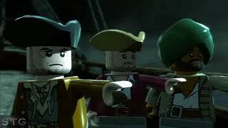 LEGO Pirates of the Caribbean Walkthrough 21 - Chapter 4 - Queen Anne