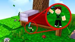 VIREI O MINI BAIXAMEMORIA NO BEDWARS !! - Minecraft