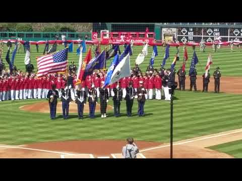Philadelphia boys choir singing Philadelphia U.S.A