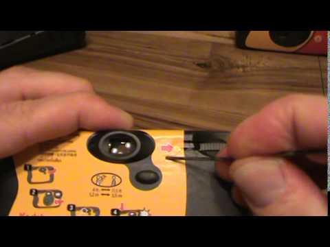 Kodak Fun Saver Disposable Camera Multiple Exposures WITHOUT hitting or smacking