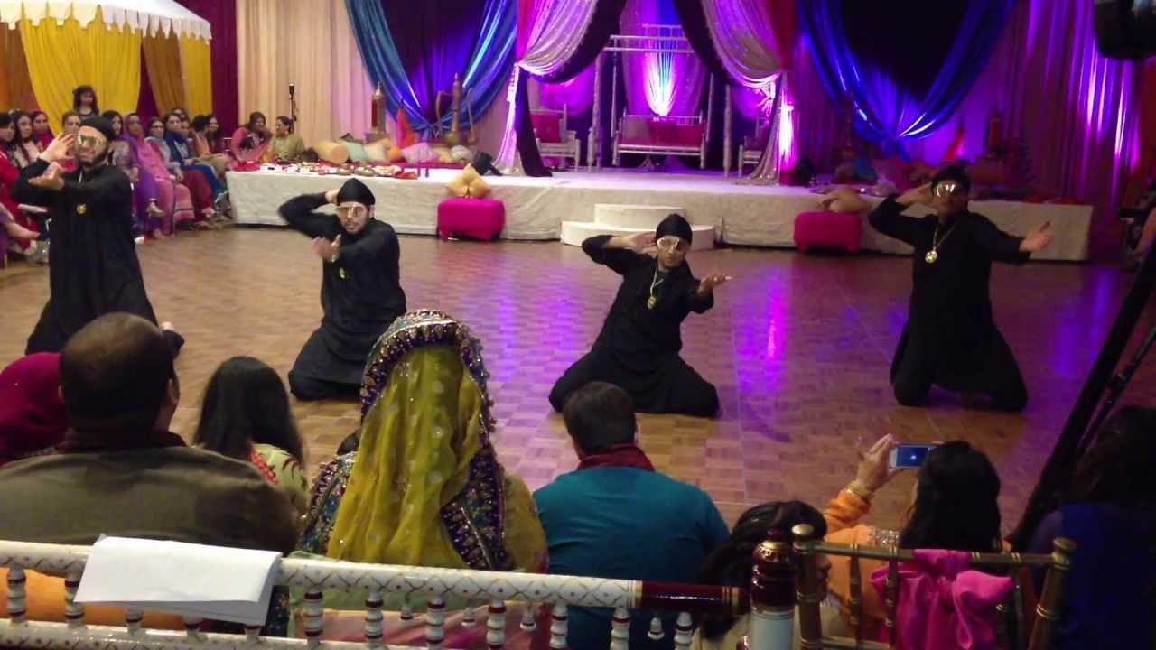 Mehndi S For Wedding Dance : Fahim samar s mehndi dance youtube