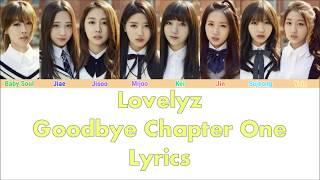 Lovelyz - Goodbye Chapter 1