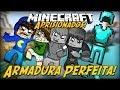 Minecraft: Aprisionados - ARMADURA PERFEITA! #8