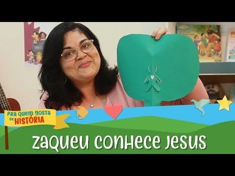 Zaqueu, a alegria de conhecer Jesus