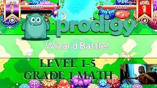 Prodigy Math Game, Level 1-5