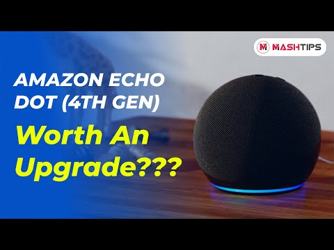 Amazon Echo Dot 4th Generation Review | Worth An Upgrade? | Is Alexa Powerful Now?