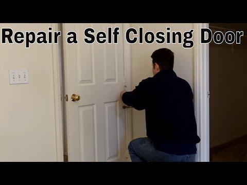Repairing A Self Closing Door