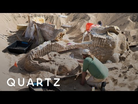 Uncovering a buried movie sphinx in California