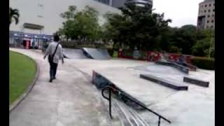 Skate Park near Orchard Road, Singapore