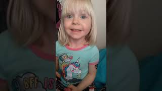 Unicorn makeover kids toddler painting nails fun