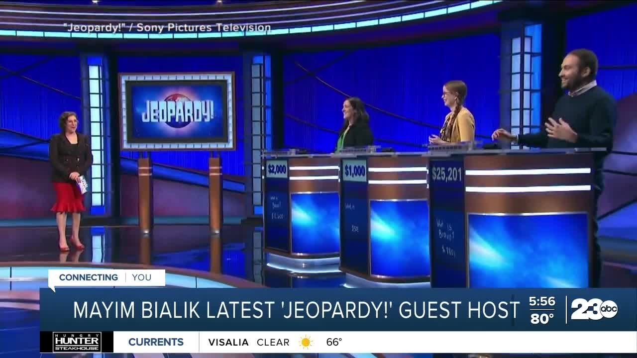 Mayim Bialik: 'Yes, I Want to Host Jeopardy! Full-Time'