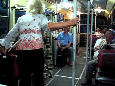 Dainos ir muzika troleibuse / Kauno viešasis transportas / Lithuania public transport