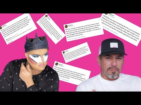 """Rich Lux Called Out By MannyMUA's Dad """"This Sh*! Needs To Stop! thumbnail"""