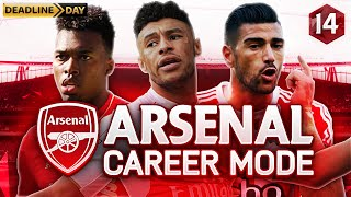 FIFA 16 Arsenal Career Mode - DEADLINE DAY! - Season 1 Episode 14