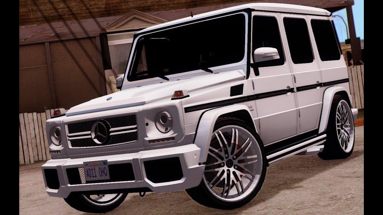 Mercedes G Wagon >> Mercedes Benz G65 AMG \ G63 AMG : Gta San Andreas - YouTube