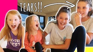 WAKING THE GIRLS UP WITH A MEGA SURPRISE HOLIDAY REVEAL!!