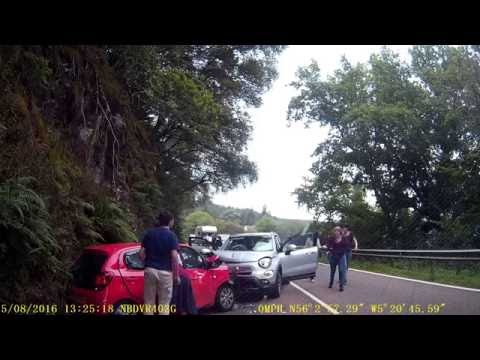 Road Traffic Accident on A83, Scotland