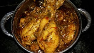 Bengali Chicken Curry Recipe I Bengali Chicken Kosha
