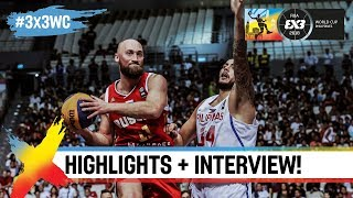 Philippines v Russia | Highlights + Interview | FIBA 3x3 World Cup 2018
