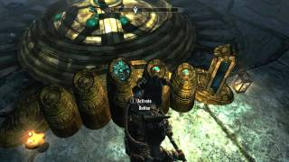 SKYRIM How to Solve Lexicon Receptacle Puzzle GamePlay Commentary + Tutorial