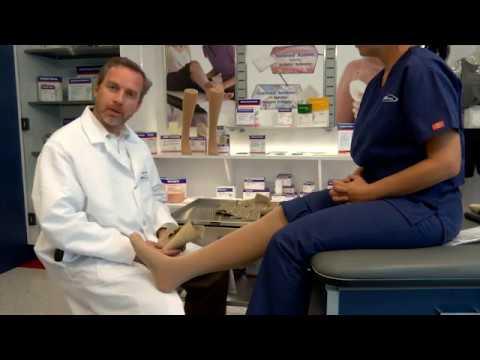 JOBST® FarrowWrap® Classic: Application for the Leg & Foot
