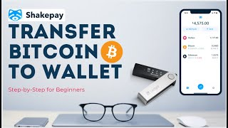 ShakePay To Wallet✅ How To Withdraw Bitcoin To Ledger Wallet | Bitcoin Wallet Shakepay Tutorial