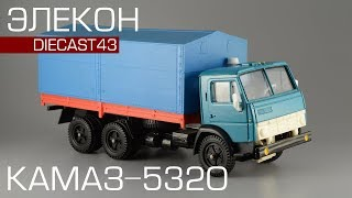 Зроблено в СРСР: КамАЗ-5320 [Елекон] масштабна модель 1:43