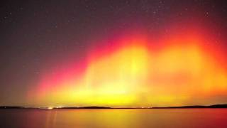 The Geomagnetic Storm at Perry Lake, Kansas