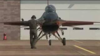 Demo F-16 Royal Netherlands Air Force Display