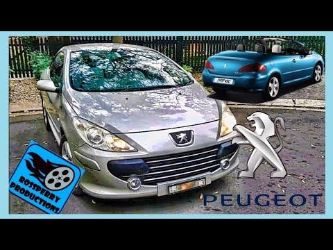Peugeot 307cc Headlight H1 Bulb / Globe Removal & Replacement Installation How to Tutorial 307
