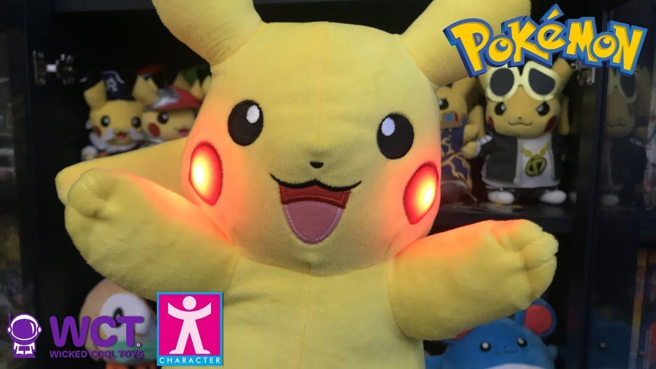 d059858e21ff0 Pokémon Power Action Pikachu Plush unboxing - YouTube