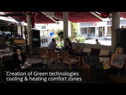 new 'Eco Pod' cafe concept in biggest Costa Coffee establishment in the world