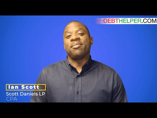 CPA Ian Scott speaks on benefits of working with Debthelper.com