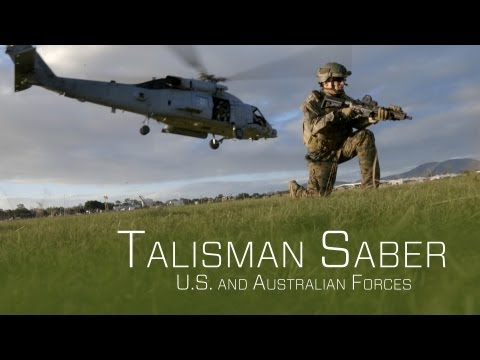 U.S. and Australian War Games - Talisman Saber 2013