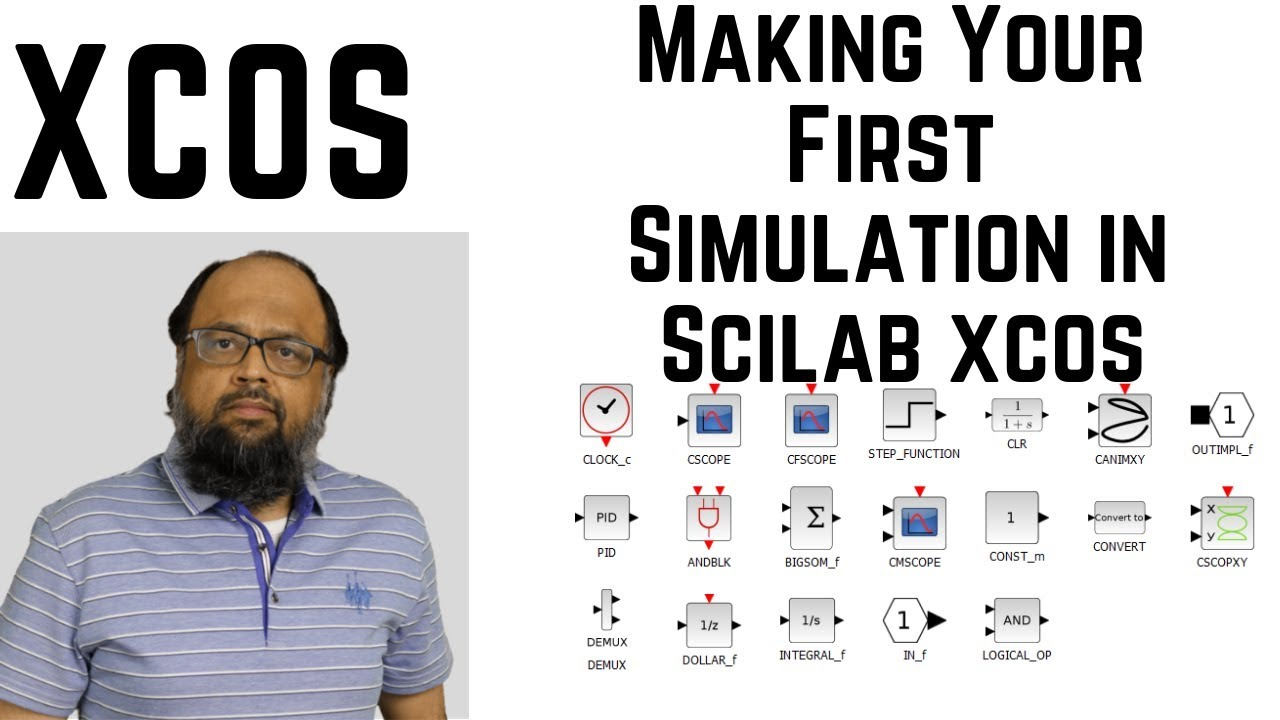 Making your First Simulation in Scilab Xcos [Unit Step Response]