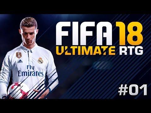 FIFA 18 PÅ NORSK   ROAD TO GLORY   MÅLFEST!   #01
