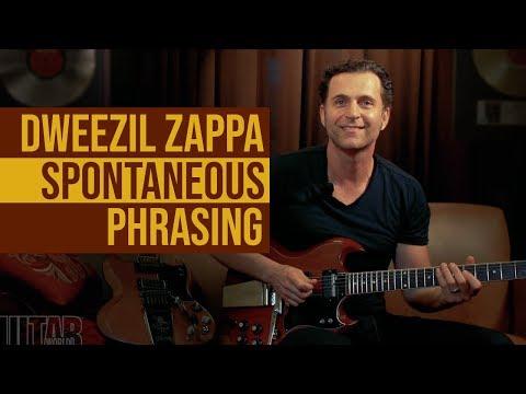 Dweezil Zappa - Spontaneous Phrasing