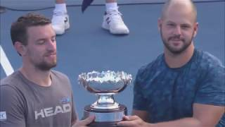 AO Highlights: Houdet/Weekes v Gerard/Olsson Final/Day 12 | Wide World Of Sports
