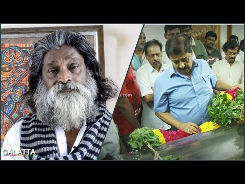 Sivakumar Paying there Last Rites to Artist and Actor Veera Santhanam